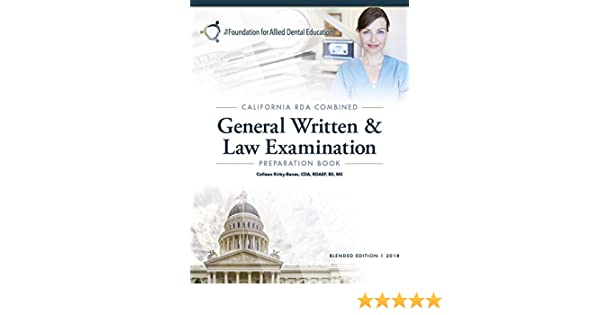 The California RDA General Written And Law Examination Prep