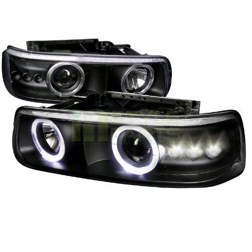 02 Chevrolet Silverado Halo Projector - 8