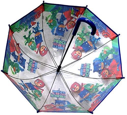 Multicolor Multicolour Pj Masks 2018 Stick Umbrella 55 cm