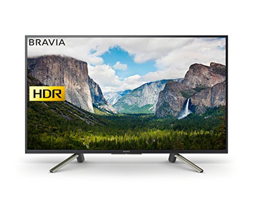 Sony Bravia KDL43WF663 43-Inch Full HD HDR Smart TV with Freeview Play  -...