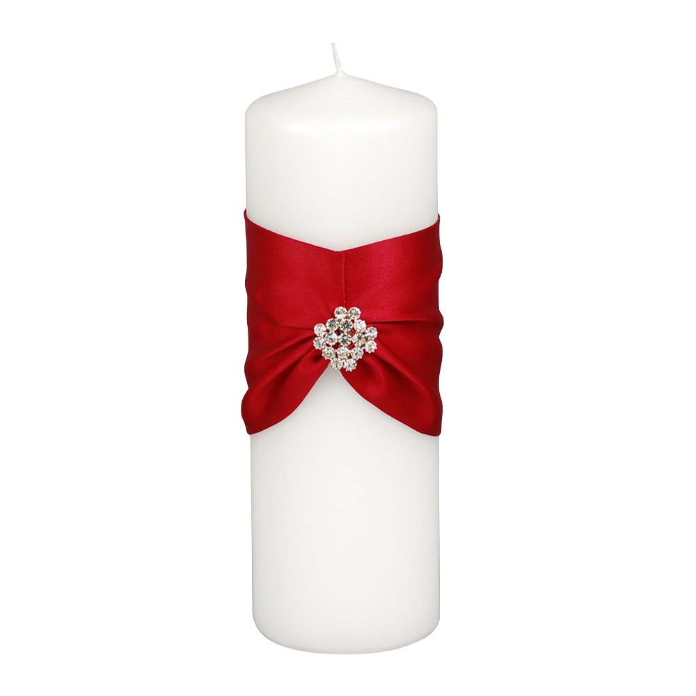 Ivy Lane Design Garbo Collection Unity Candle, Claret