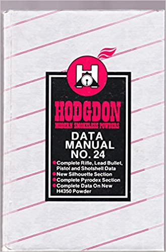 Hodgdon Modern Smokeless Powders -- Data Manual No  24