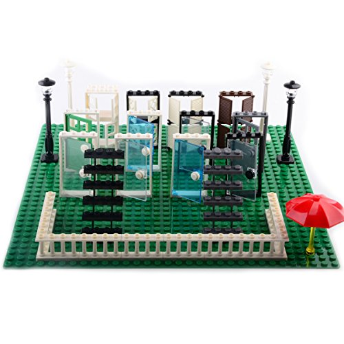AWBLTH Minifigure Accessories Packs, Building Bricks Set of 31 Fit with Major Brands Community People Scenes Accessories, Building Party Toys Gift