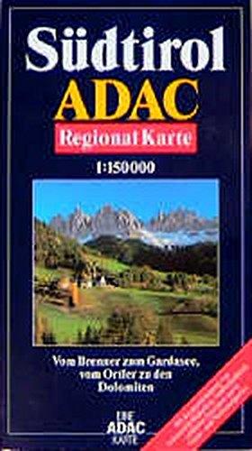 ADAC Karte, Südtirol (ADAC-Karten Italien / 1:150000)