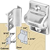 Platte River 937234, 40-pack, Hardware, Locks And Latches, Ball & Bullet Catches, Ball Bearing Door Catch