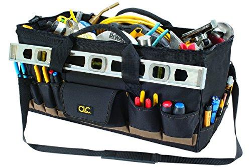 CLC Custom Leathercraft 1164 32 Pocket - 24-Inch Megamouth Tote Bag by Custom Leathercraft (Image #3)