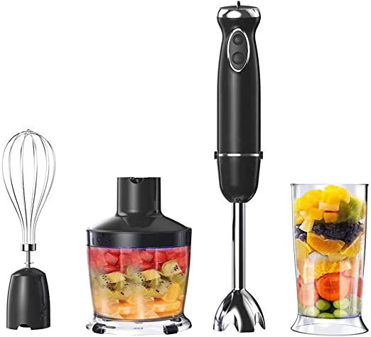 HTTJHCY Blender Diving 800W 2 Speed 4 in 1 Mixer Inmersión Set ...
