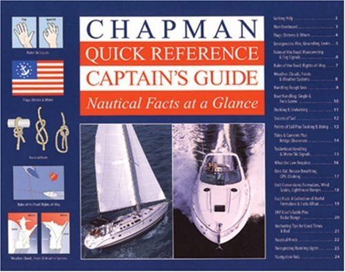Read Online Chapman Quick Reference Captain's Guide: Nautical Facts at a Glance PDF