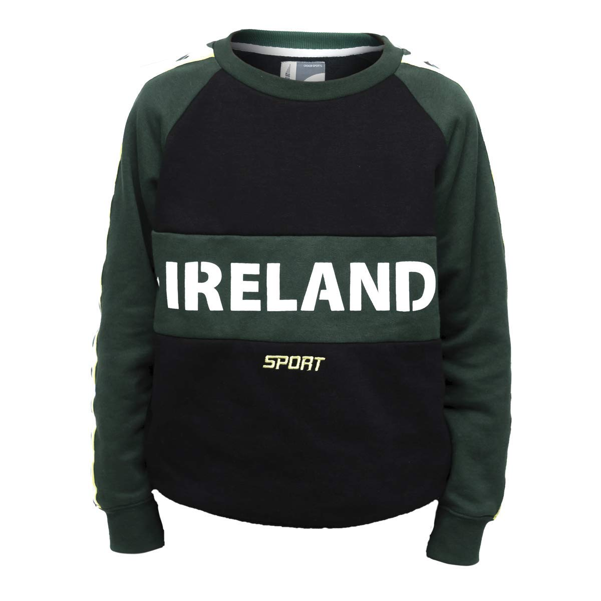 Croker Green & Black Kids Crew Neck Sweater (12)