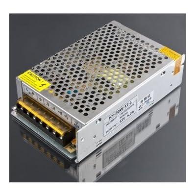 12V 5A 60W interrupteur d'alimentation Driver pour bande LED