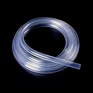 Quickun Industrial Grade Plastic PVC Vinyl Tubing, 3/4