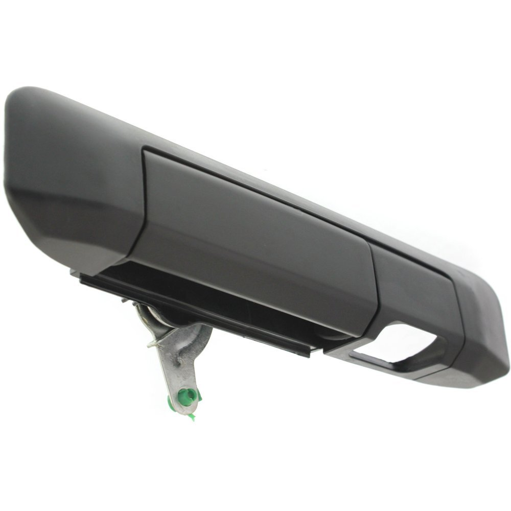 Tailgate Handle Compatible with Toyota Tacoma 09-15 Outside Textured Black W//Camera Hole