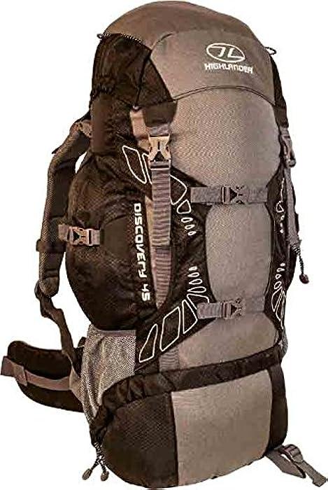 Highlander Travel Rucksack Hiking Backpack Back Pack Bag 45 65 85 Litre Cover