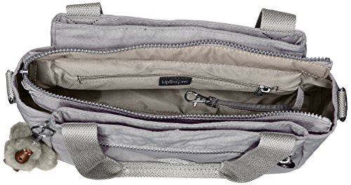 Slate Solid Grey Bag Crossbody Kipling Convertible T Elysia RHxqO