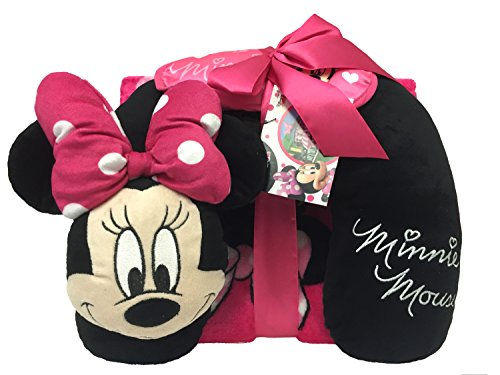 Disney Minnie Mouse 3 Piece Travel Set with 40