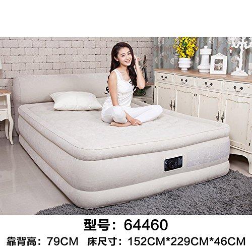 NVZJNDS lit gonflable à la maison de lit d'air de lit gonflable de lit d'air d'épaississement de matelas