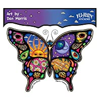 Dan Morris - Celestial Day and Night Butterfly - Sticker/Decal
