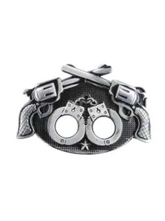 qualité usa pas cher vente style top armardi e Boucle de ceinture pistolets Menottes: Amazon.fr ...