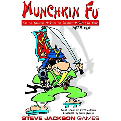 Steve Jackson Games Munchkin Fu (Revised): Toys & Games