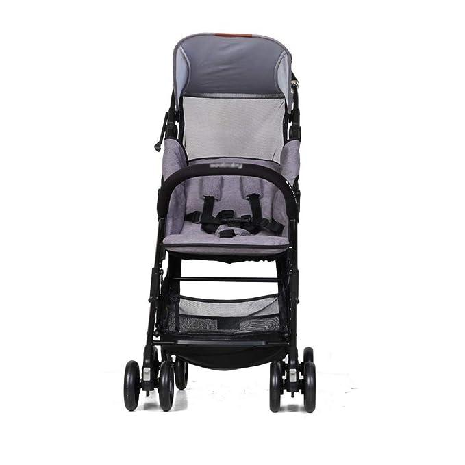 Olydmsky Carro Bebe,Mochila Trolley Bolsillo Cochecito Plegable luz portátil Puede Sentarse en un Cochecito de bebé de Plano: Amazon.es: Hogar