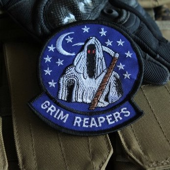 USAF AIR FORCE 4453RD TEST SQUADRON GRIM REAPERS NELLIS AFB patch