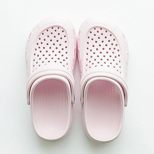 femenina playa aire opcional al antideslizante 3 agujero deslizadores de Cómodo Zapatos tres Par Una colores de opcionales de de de zapatos jardín libre Aumenta de verano tamaño A Zapatillas familia qTpT1ZBw