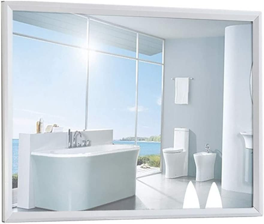 YiYi Bathroom mirror Espejos con Marco de Vidrio Espejo de Pared HD Espejo de vanidad para Sala de Estar o baño: Amazon.es: Hogar