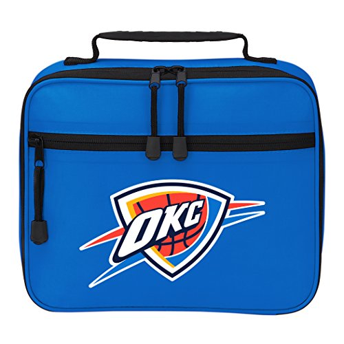 y NBA Oklahoma City Thunder Cooltime Lunch Kit Cooltime Lunch Kit, Blue, One Size ()