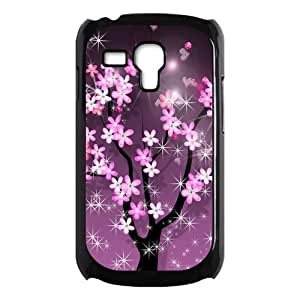 Sparkling Spring Sakura Beautiful Fashion Hard Case Cover for Galaxy S3 Mini I8190