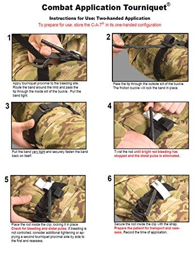 Combat Application Tourniquet C-A-T Gen 7 4