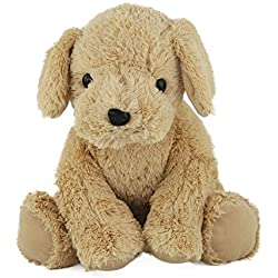WEWILL Puppy Stuffed Animal Super Soft Plush Golden Retriever Cuddly Dog, Unique Gift for Kids Pet's Toy on Christmas Birhtday, 12-Inch