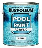 Paint, Aqua, 1 gal.