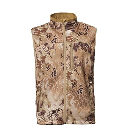 - Kryptek Cadog 2 Camo Hunting Vest (Cadog Collection), Highlander, 2XL