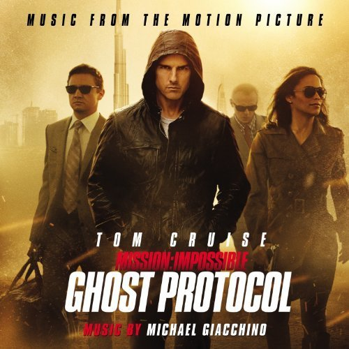 Mission Impossible: Ghost Protocol by Michael Giacchino (2012) Audio CD