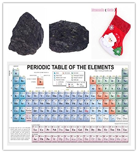 Christmas Lump of Coal Naughty and periodic table of the elements Watercolor inkjet Watercolor inkjet Fabric (Lump Of Coal Costumes)