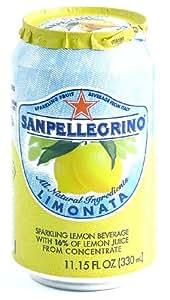 San Pellegrino Limonata Sparking Beverage - 24/11.5 oz cans