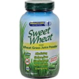 Sweet Wheat Freeze Dried Wheat Grass Juice Powder - 180 Caps