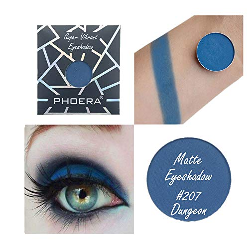 FINME PHOERA 36 Colors Eyeshadow Customize Magnetic Pan Eyeshadow Collection Shimmer Glitter Eye Shadow (A3) ()