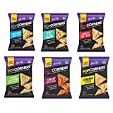 corn poppers chips - PopCorners 6 Flavor Variety Pack 1.1 Oz Bags (40 Pack)