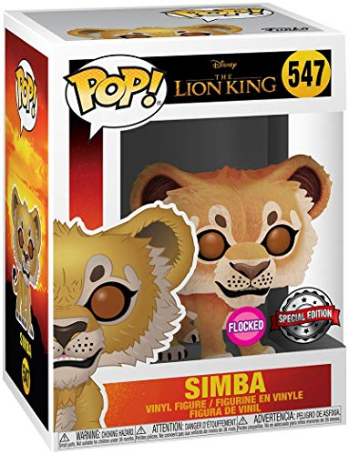 Funko Pop! Disney Lion King - Simba - Figurilla de Vinilo Bobble Head del Rey Leon