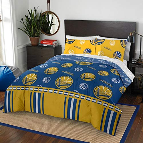 Official GoldenStateWarriors Queen Bed in Bag - Set State Bedding