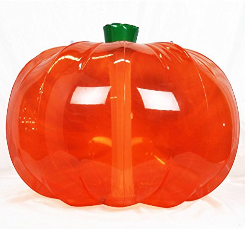 Jet Creations Halloween Inflatable Pumpkin Thanksgiving Indoor Outdoor Yard 36 inch Diameter Orange DIY Craft Party Decor Dry Erase Friendly -