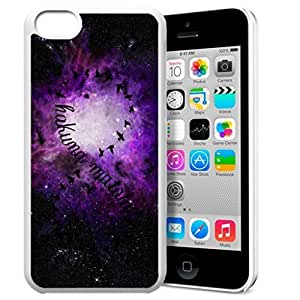 Africa Ancient Proverb HAKUNA MATATA Color Accelerating Universe Star Design Pattern HD Durable Hard Plastic Case Cover for iphone 6 4.7