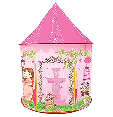 Princess Castle Play Tent for Kids Princess Castle Dollhouse that conveniently folds in to a  sc 1 st  Amazon.com & Amazon.com: Princess Castle Play Tent for Kids Princess Castle ...