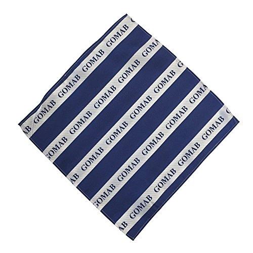 Phi Beta Sigma Fraternity Necktie Tie Greek Formal Occasion Standard Length Width Hanky Pocket Square (Call Tag Hanky)