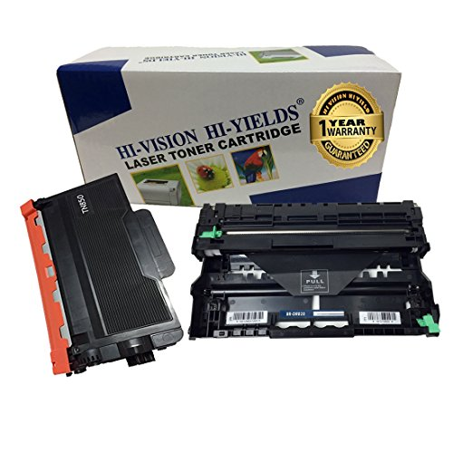 HI-VISION® Compatible Brother TN-850, DR820 [TONER + DRUM] Replacement for MFC-L5800DW, MFC-L5850DW, MFC-L5900DW, MFC-L6700DW, MFC-L6750DW, MFC-L6800DW