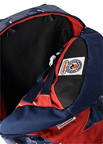 9b6f877e32 ... INVICTA – TRICK 360 – Camouflage Blue Rosso 2 zaini in 1 reversibile –  scuola e tempo libero – 24 LT. 🔍. Valigeria ...
