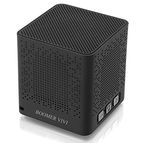 Wireless Bluetooth Speakers,BOOMER VIVI Mini Cube Bluetooth Speaker 4W Enhanced Bass With Subwoofer 12-Hour Playing,Clear Sound With TF Cards for iPhone 8/6/6s/6s/ iPad/iPod