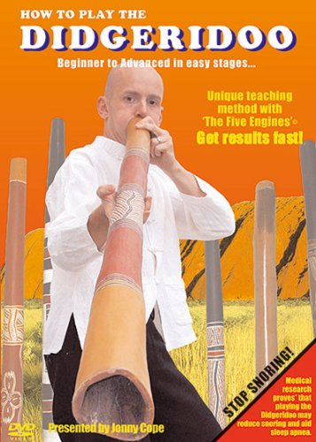 This unique teaching method by Jonathan Cope, teacher, performer and author with 15 years experience has been used by over 15,000 people. Did you know that medical research indicates that playing the Didgeridoo may reduce snoring and aid in sleep apn...