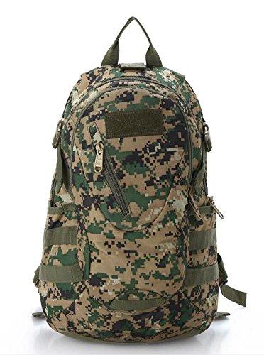 Los hombres al aire libre mochila Militar camuflaje bolsa de hombro pequeña mujeres impermeable montañismo bolso bolsa de viaje bolsa de ordenador 20L